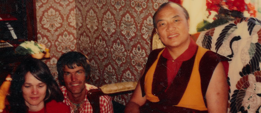 HH 16th Karmapa, Lama Ole and Hannah Nydahl