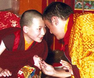 Shamarpa and Karmapa